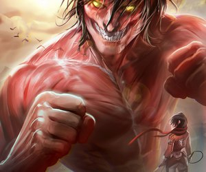 anime, art, and snk image
