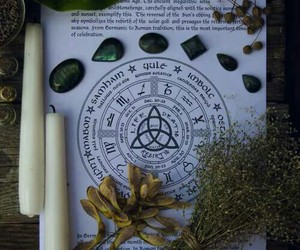 magic, witch, and candle image