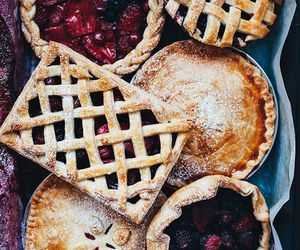 food, pie, and fall image
