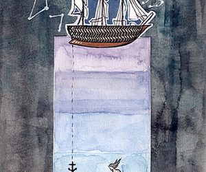 adventure, anchor, and boat image