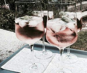 drink, food, and ice image