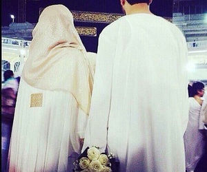 muslim, couple, and mecca image