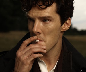benedict cumberbatch, sherlock, and Hot image