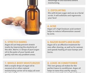 skincare and argan oil image