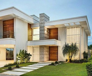 garden, home, and modern design image