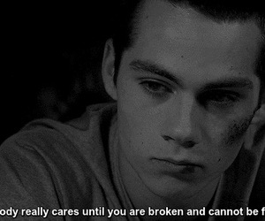 teen wolf, quotes, and stiles image