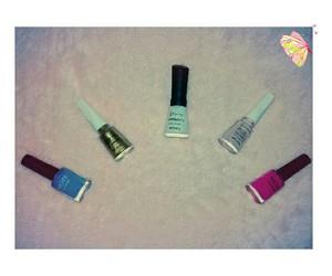 beauty+, nails, and makeup+ image