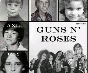 axl rose, Guns N Roses, and izzy stradlin image