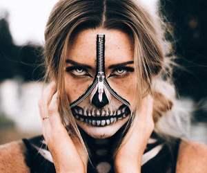 art, eyes, and Halloween image