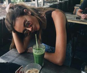 girl, tumblr, and summer image