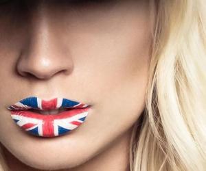 lips, lipstick, and british image