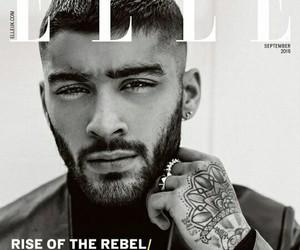 Elle, magazine, and zayn image