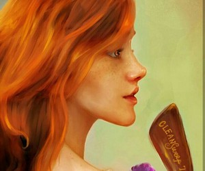 harry potter, ginny weasley, and book image