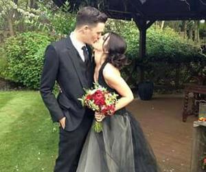 vestidos, parejas, and bodas image