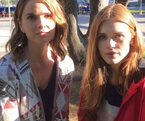 teen wolf, shelley hennig, and holland roden image