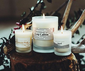 candle, winter, and cozy image