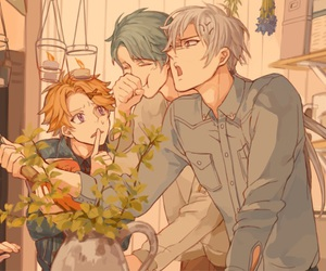 mystic messenger, v, and zen image