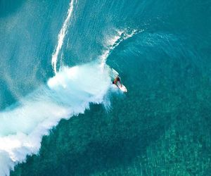 ocean, wave, and surfing image
