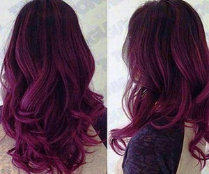color, hair dye, and hair image
