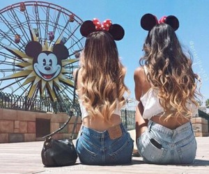 friends, disney, and bff image