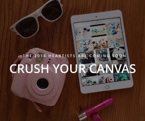 canvas, creative, and we heart it image