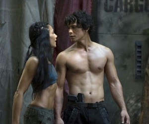 handsome, the 100, and bellamy blake image