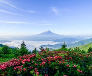 breathtaking, fuji, and mountain image
