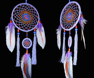 dream catcher, dreamcatcher, and wall hanging image