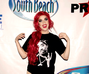 red hair, adore delano, and ru paul drag race image
