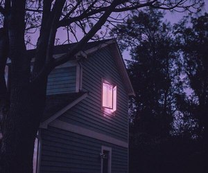 house, aesthetic, and light image