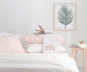 pillow, aesthetic, and bed image