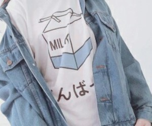milk, grunge, and blue image