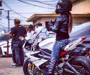 moto girl image