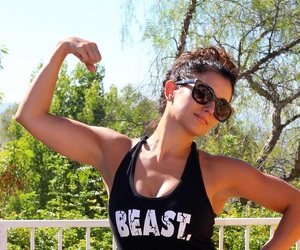 beast, beauty, and muscles image