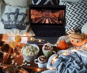 autumn, Halloween, and tumblr image
