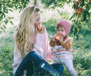 autumn, baby girl, and beauty image