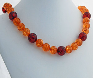 art deco, etsy, and chunky necklace image