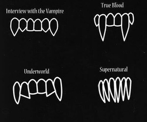 vampire and teeth image