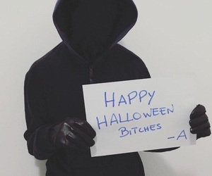 pll, Halloween, and pretty little liars image
