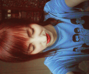 girl, redhead, and the smiths image