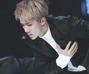 exo, sehun, and asian boy image