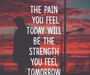 feel, pain, and strength image