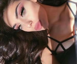 brown hair, eyes, and gurl image