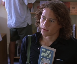 10 things i hate about you, 1999, and heath ledger image