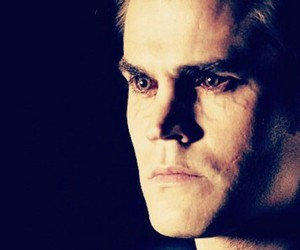 paul wesley, stefan salvatore, and vampire image