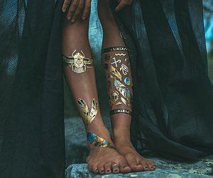 fashion, style, and tattoo image