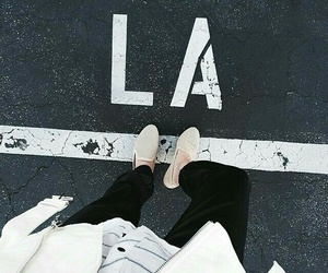 la, los angeles, and shoes image