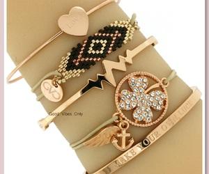 aztec, bangles, and bracelets image