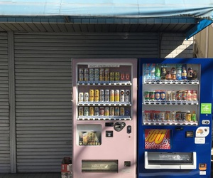 asia, street, and drinks image