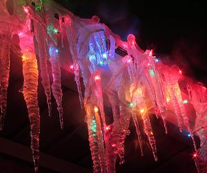 christmas, lights, and christmas lights image